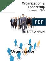 Pengertian Organisasi dan Leadership