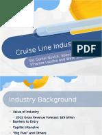 Cruise Line Industry Presentation