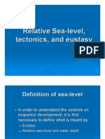 Eustacy Base Level Relative Sea Level