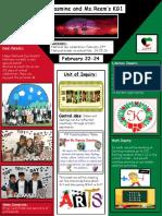 Weekly Newsletter Feb 19-23 2017
