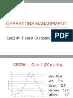 Sem B - Quiz 1 Statistics