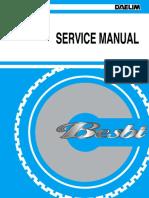 Sachs Amici - Daelim Besbi Service Manual