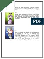 Characters in the Peking Opera