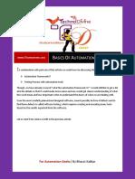 20 Automation Basics Part 2