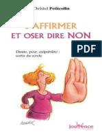 Petitcollin, Christel - S'Affirmer Et Oser Dire Non