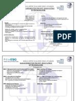 Management de ProjetT Programme