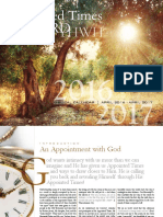 Understanding the Appointed Times of the Lord YHWH - 2016-2017 Calendar