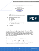 Villanueva - The Cyclotomic Equation and Its Significance to Solving the Quintic Equation
