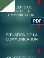 Concept de Base de La Communication.