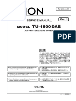 Denon TU-1800DAB Service Manual