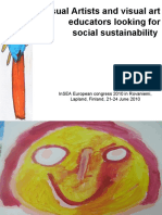 Visual Artists and Visual Art Educators Looking for Social Sustainability