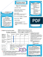 evaluative matrix handout