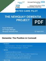 Newquay Dementia Pilot