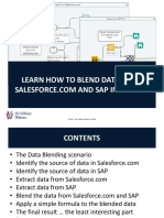 Learn How to Blend Data From Salesforce.com and Sap in Alteryx