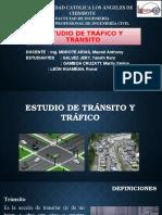 Estudio de Tránsito y Tráfico
