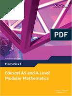 Edexcel Maths M1