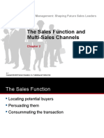 Chap 2 Tanner - The Sales Function & Multi Sales Channels 280516