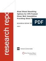 Steel Sheet Sheathing Options for Cold-Formed Steel Framed Shear Wall Assemblies Providing Shear Resistance .pdf