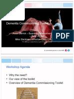 Dementia Commissioning Toolkit