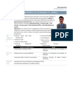 CV Fahad Malik KPMG