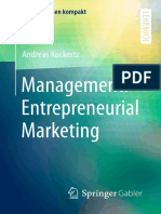 management of entrepreneurial marketing of humans