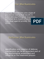 Defense Mechanisms Ppt Diagnostic And Statistical Manual Of