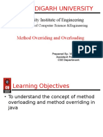 MethodOverriding Overloading