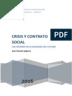 Trabajo Individual Cualitativas Nuevo .Crisis y contrato social  Jovenes