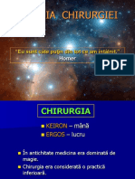 Curs 1+2 - ISTORICUL  CHIRURGIEI
