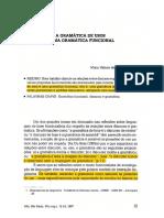 Estudos Gramaticais - A Gramatica de Usos