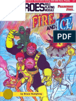 DC Heroes - [Module - Fearsome Five] Fire and Ice