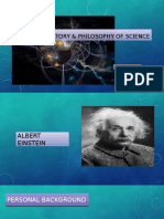 History & Philosophy of Science