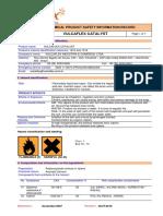 1 - Vulcaflex  Catalisador