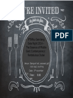 Kad Undangan (Annual Dinner)