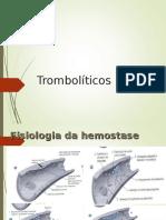 Antiplaquetários, Anticogulantes e Trombolíticos