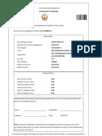 CST form 1 nil