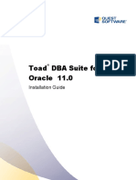 ToadforOracle DBA Suite Installation Guide