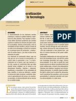 AROCENA 2007 Sobre La Democratizacion de La Ciencia y La Tecnologia