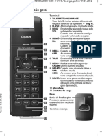 Telefone Gigaset Ac620