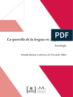 AAVV, La Querella de La Lengua