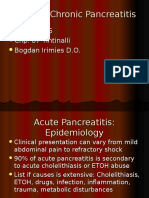 Acute Chronic Pancreatitis