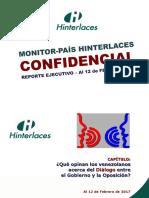 75% de los venezolanos apoya continuidad del diálogo entre Gobierno y oposición