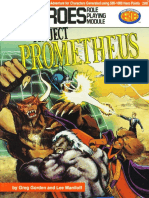 DC Heroes - [Module] Project Prometheus