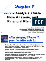 Funds Analysis Cash Flow and Financial Planning