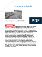 The political economy of drought.docx