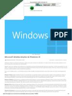 Microsoft Detalha Edições Do Windows 10