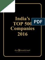 India Top500Companies2016