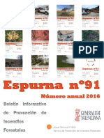 Boletín Espurna Resumen 2016