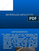 Materiales Asfalticos