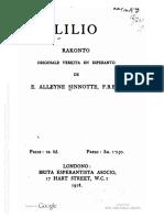 Lilio - Edith Alleyne Sinnotte (1918)